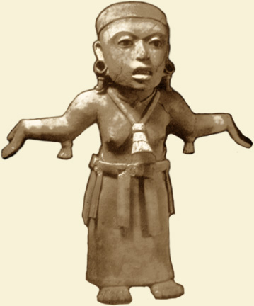 totonac woman invoking