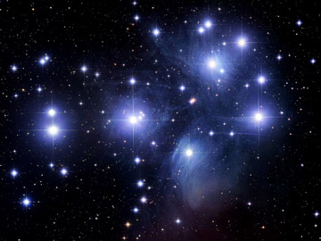 the pleiades constellation