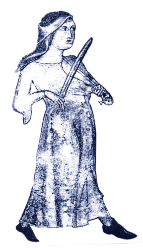 basque woman fiddler