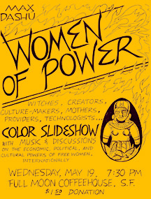Women of Power, Full Moon Coffeehouse, SF