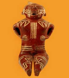 Female figurine Condorhuasi culture, Argentina