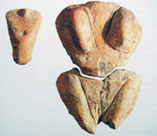 clay figurines from Skorba, Malta, between Sicily and Tunisia